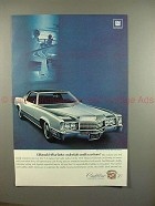 1970 Cadillac Eldorado Car Ad, What Better Credentials!