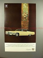 1969 Cadillac Coupe DeVille Car Ad - NICE!!