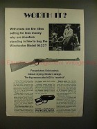 1975 Winchester Model 9422 Rifle Gun Ad - Worth It?!