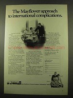 1975 Mayflower Transit Company Ad - Complications