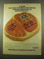 1975 Kaiser Agricultural Chemicals Ad - If Food Gone Up