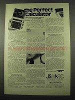 1975 Casio Mini-Printer Calculator Ad - Perfect