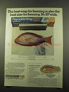 1975 Reynolds Wrap Ad - Poached Red Snapper Recipe