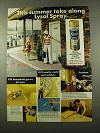 1975 Lysol Disinfectant Ad - This Summer Take Along