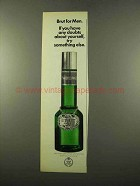 1975 Faberge Brut for Men Cologne Ad - Any Doubts
