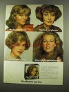 1975 Clairol Frost & Tip Hair Color Ad - Shy Not Timid