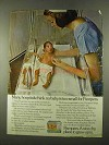 1975 Pampers Diapers Ad - No Baby Is Too Small For