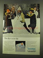 1975 Tampax Tampons Ad - This Day is Your Day