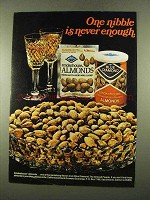 1975 Blue Diamond Smokehouse Almonds Ad - One Nibble