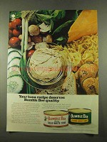 1975 Bumble Bee Tuna Ad - Deserves Quality