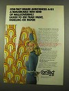 1975 Con-Tact Brand A-21 Wallcovering Ad