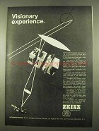 1975 Zeiss Microscopes Ad - Visionary Experience