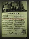 1975 Data General Computers Ad - Batch is a Bitch