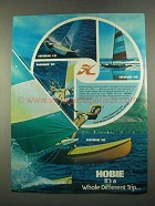 1975 Hobie 10, 12, 14 and 16 Boats Ad
