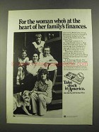 1975 U.S. Savings Bonds Ad - For the Woman