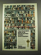1975 Home Insurance Ad - Gold Key Auto Policy