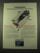 1975 Employees Insurance of Waussau Ad - Legal Opinion