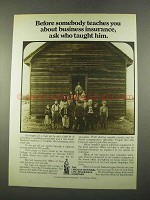1975 Lincoln National Life Insurance Ad - Who Taught