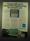 1975 American Express Ad - Good For Charging Things