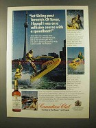 1975 Canadian Club Whisky Ad - Jet Skiing Toronto