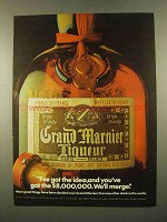 1975 Grand Marnier Liqueur Ad - I've Got The Idea