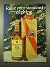 1975 Seagram's V.O. Canadian Whisky Ad - Raise Standard