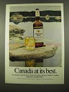 1975 Canadian Mist Whisky Advertisement - Canada At Its Best
