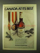 1975 Canadian Mist Whisky Ad - At Its Best