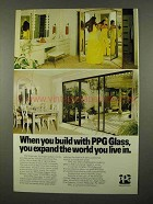 1975 PPG Float Mirrors, Herculite K Safety Glass Ad