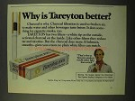 1975 Tareyton 100's Cigarettes Ad - Why Better?