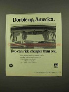 1975 Department of Transportation Ad - Double Up