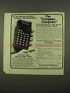 1975 Commodore 4109 Calculator Ad - Complete Computer