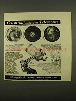 1975 Celestron Multipurpose Telescopes Ad
