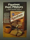 1975 Pillsbury Figurines Ad - Delicious Diet Meal