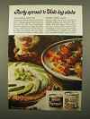 1975 Hormel SPAM Spread and Vienna Sausage Ad