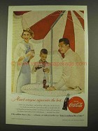 1956 Coca-Cola Soda Ad - Almost Everyone Appreciates