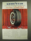 1958 Goodyear Double Eagle Tire Ad - Sixtieth Year