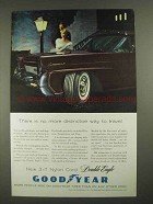 1958 Goodyear 3-T Nylon Cord Double Eagle Tire Ad