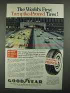 1959 Goodyear Tires Ad - Turnpike-Proved