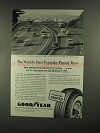 1960 Goodyear Tires Ad - First Turnpike-Proved