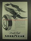 1960 Goodyear 3-T Nylon Double Eagle Tire Ad