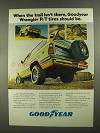 1977 Goodyear Wrangler R/T Tires Ad - Trail