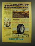 1978 Goodyear Tracker A-T Tires Ad - Chisholm Trail