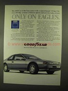 1989 Goodyear Eagle Tires Ad - Ford Thunderbird SC