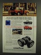 1991 Goodyear Wrangler HT Tires Ad - Ends of Earth
