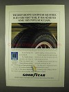 1992 Goodyear Aquatred Tires Ad - Deep Groove