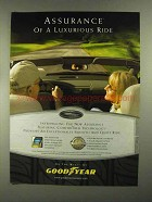 2004 Goodyear Tires Ad - Assurance of Luxurious Ride
