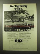 1977 Cox Camper Ad - You'll Get Away With It