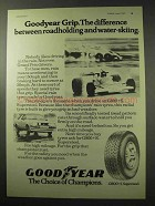 1977 Goodyear G800+S Supersteel Tires Ad - Grip