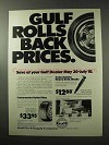 1977 Gulf Cruisemaster Tires and Heavy Duty Shocks Ad